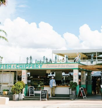 Watsons Bay Fish and Chippery bar